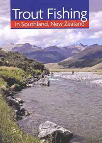 Trout Fishing Southland - Book cover photo
